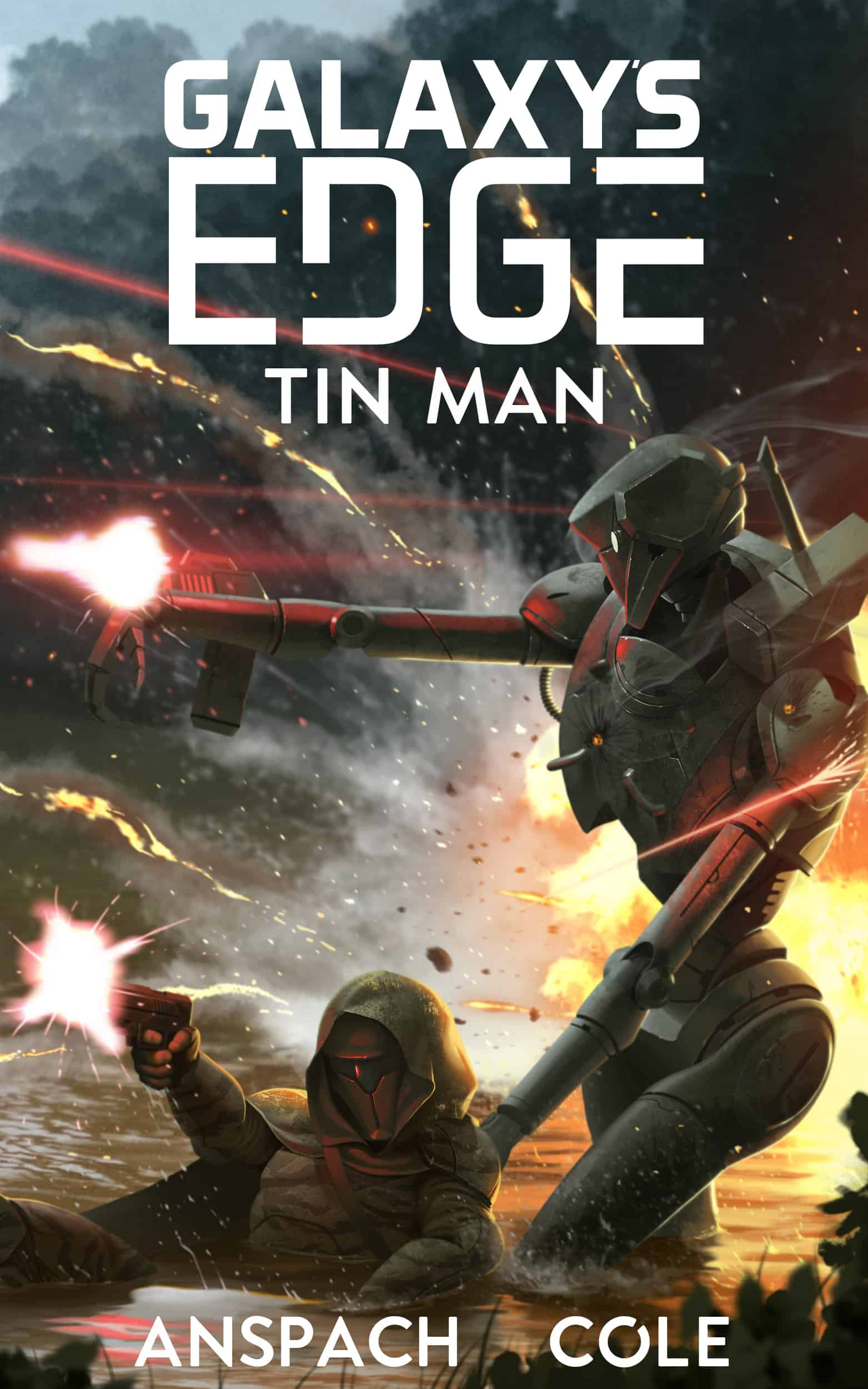 Galaxy's Edge Tin Man Cover